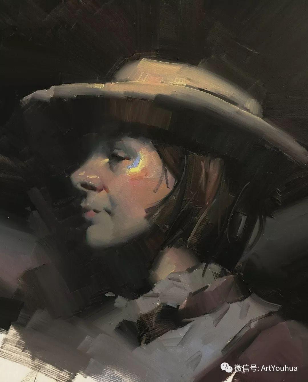 他的人物肖像绘画独具一格 还是位80后画家插图21