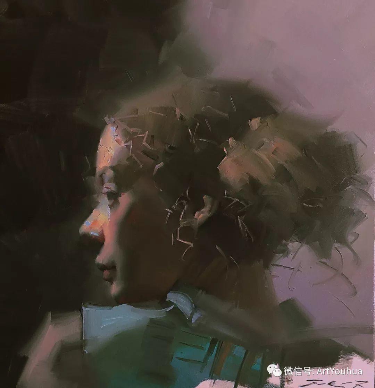 他的人物肖像绘画独具一格 还是位80后画家插图29