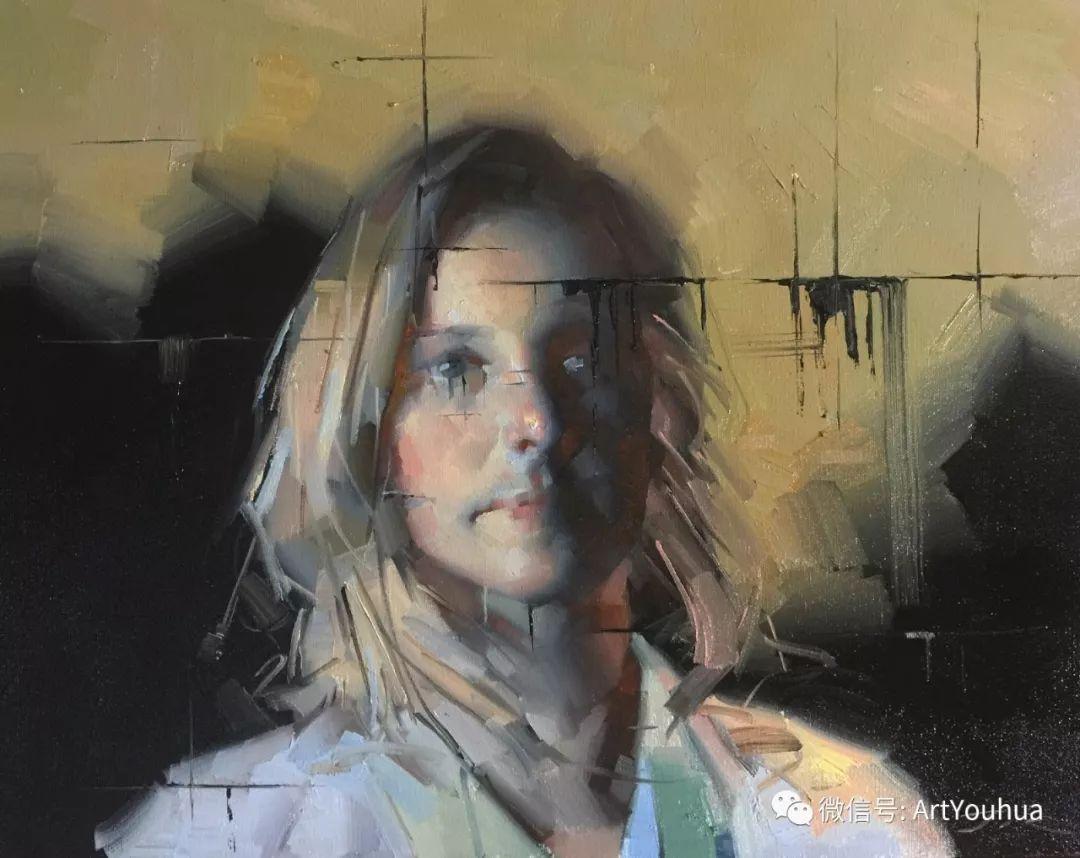 他的人物肖像绘画独具一格 还是位80后画家插图35