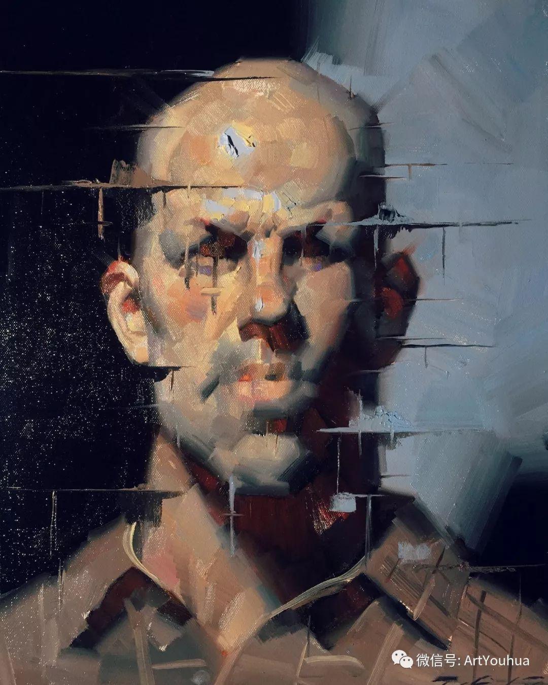 他的人物肖像绘画独具一格 还是位80后画家插图37