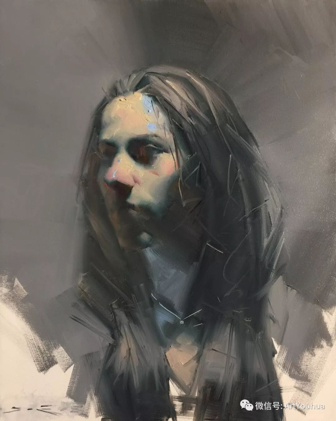 他的人物肖像绘画独具一格 还是位80后画家插图45