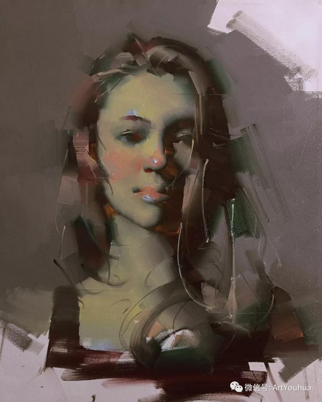 他的人物肖像绘画独具一格 还是位80后画家插图67
