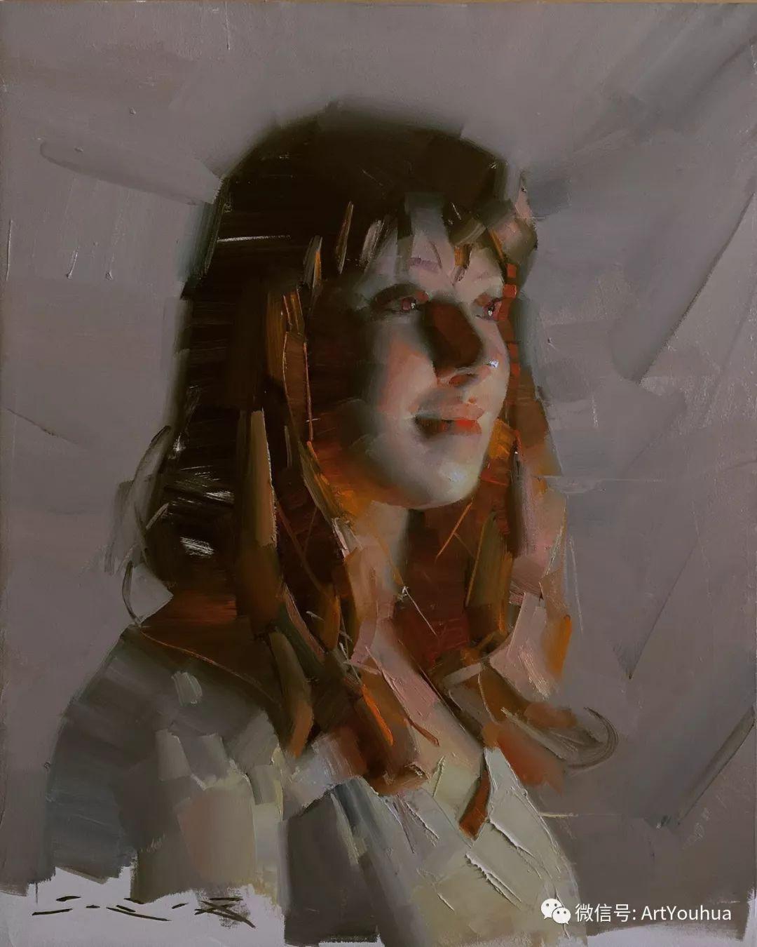 他的人物肖像绘画独具一格 还是位80后画家插图71