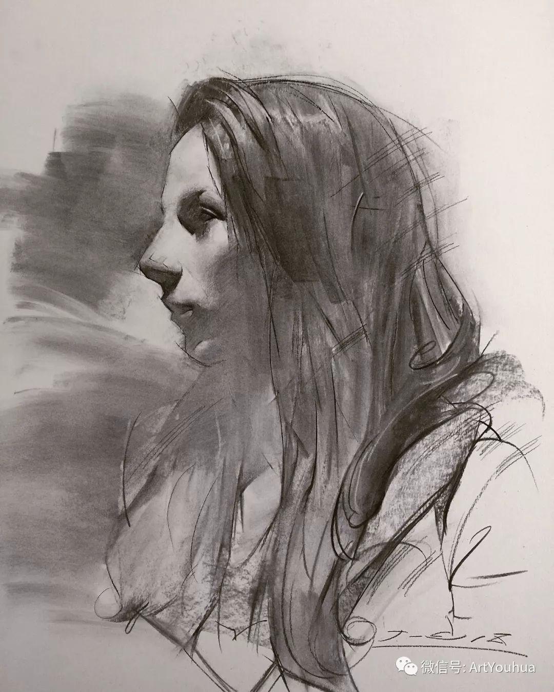 他的人物肖像绘画独具一格 还是位80后画家插图81