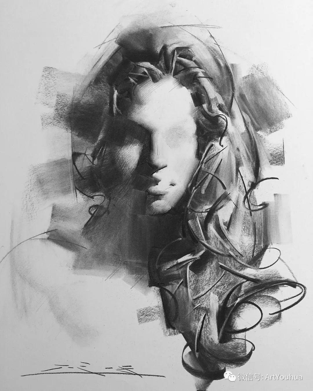 他的人物肖像绘画独具一格 还是位80后画家插图89
