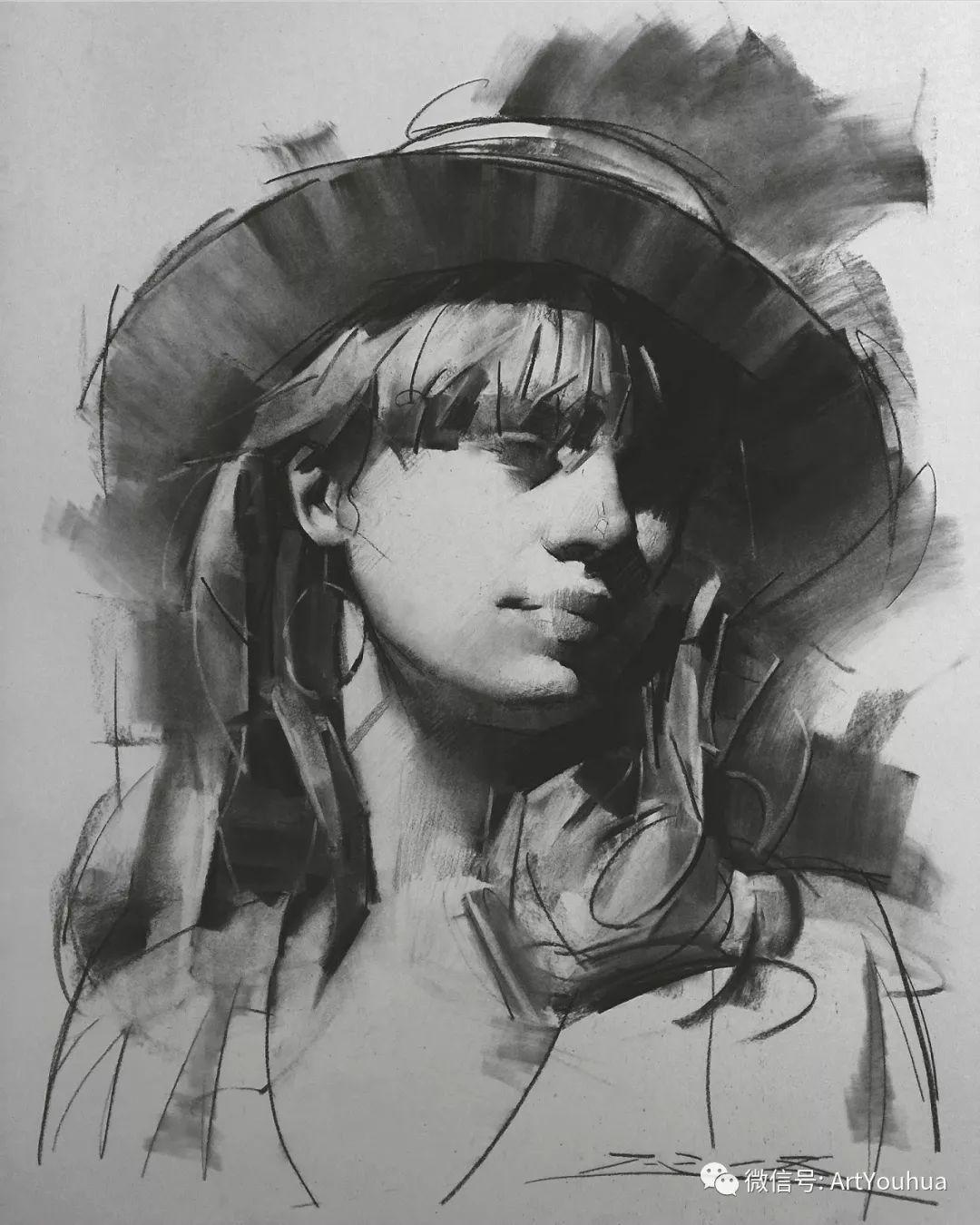 他的人物肖像绘画独具一格 还是位80后画家插图93