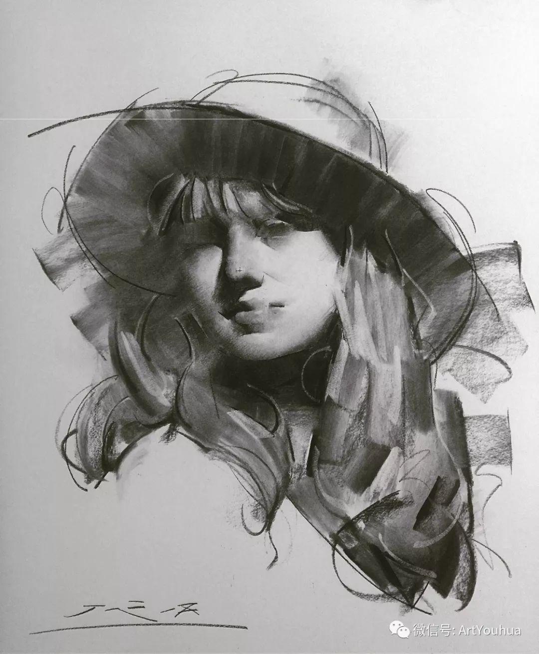 他的人物肖像绘画独具一格 还是位80后画家插图97