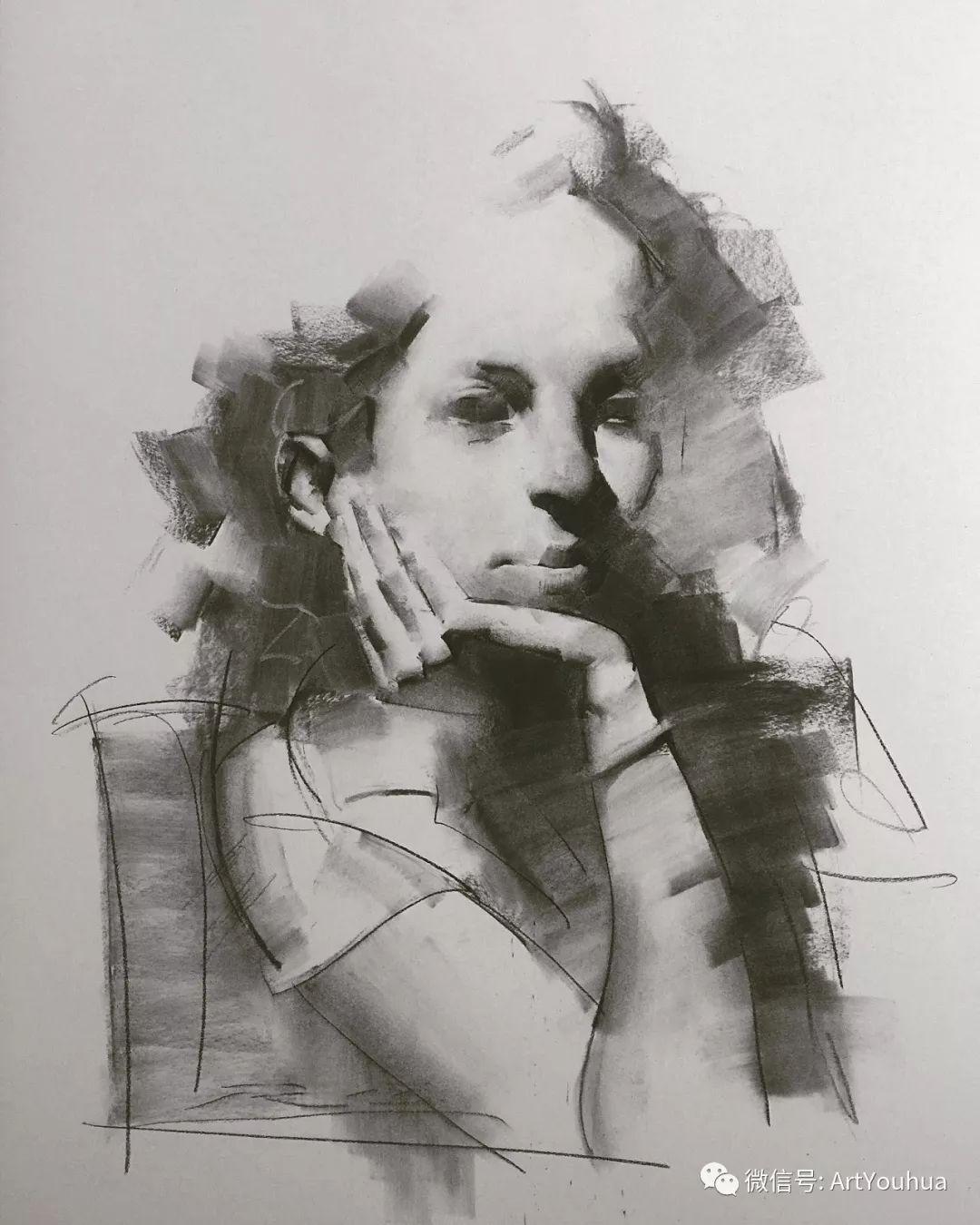 他的人物肖像绘画独具一格 还是位80后画家插图99