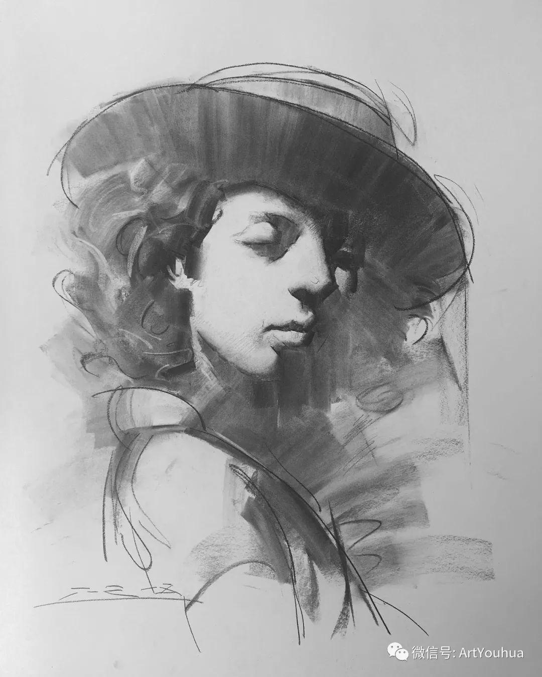 他的人物肖像绘画独具一格 还是位80后画家插图103