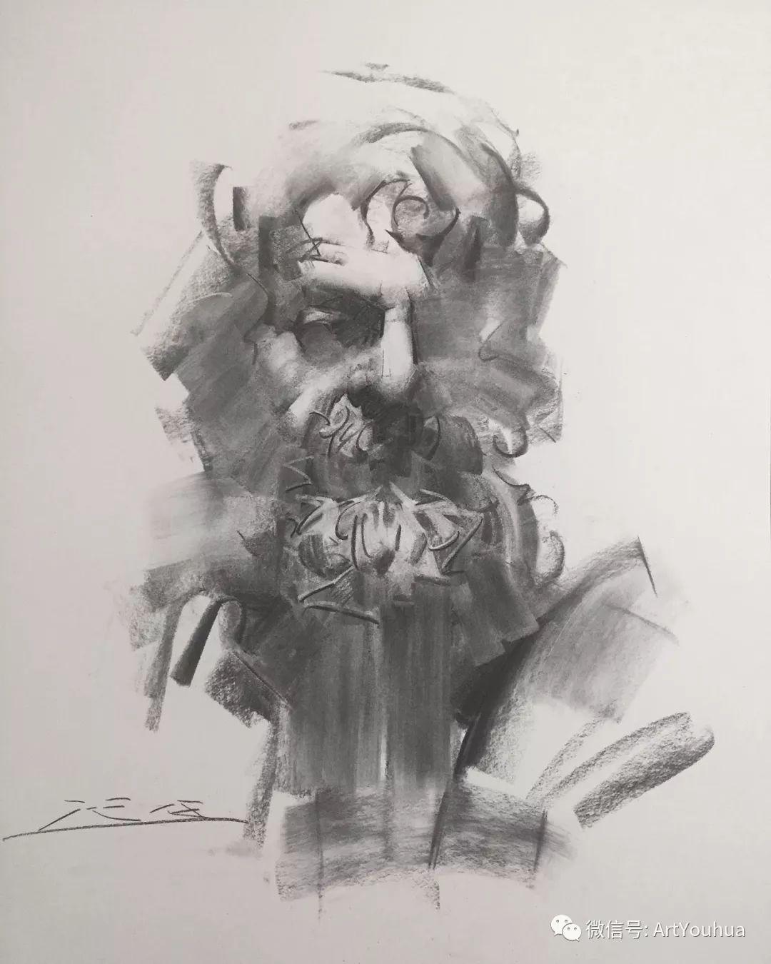 他的人物肖像绘画独具一格 还是位80后画家插图105