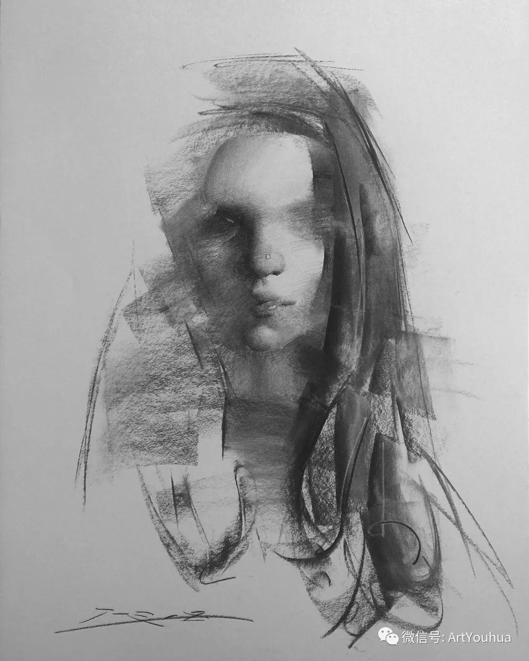 他的人物肖像绘画独具一格 还是位80后画家插图111