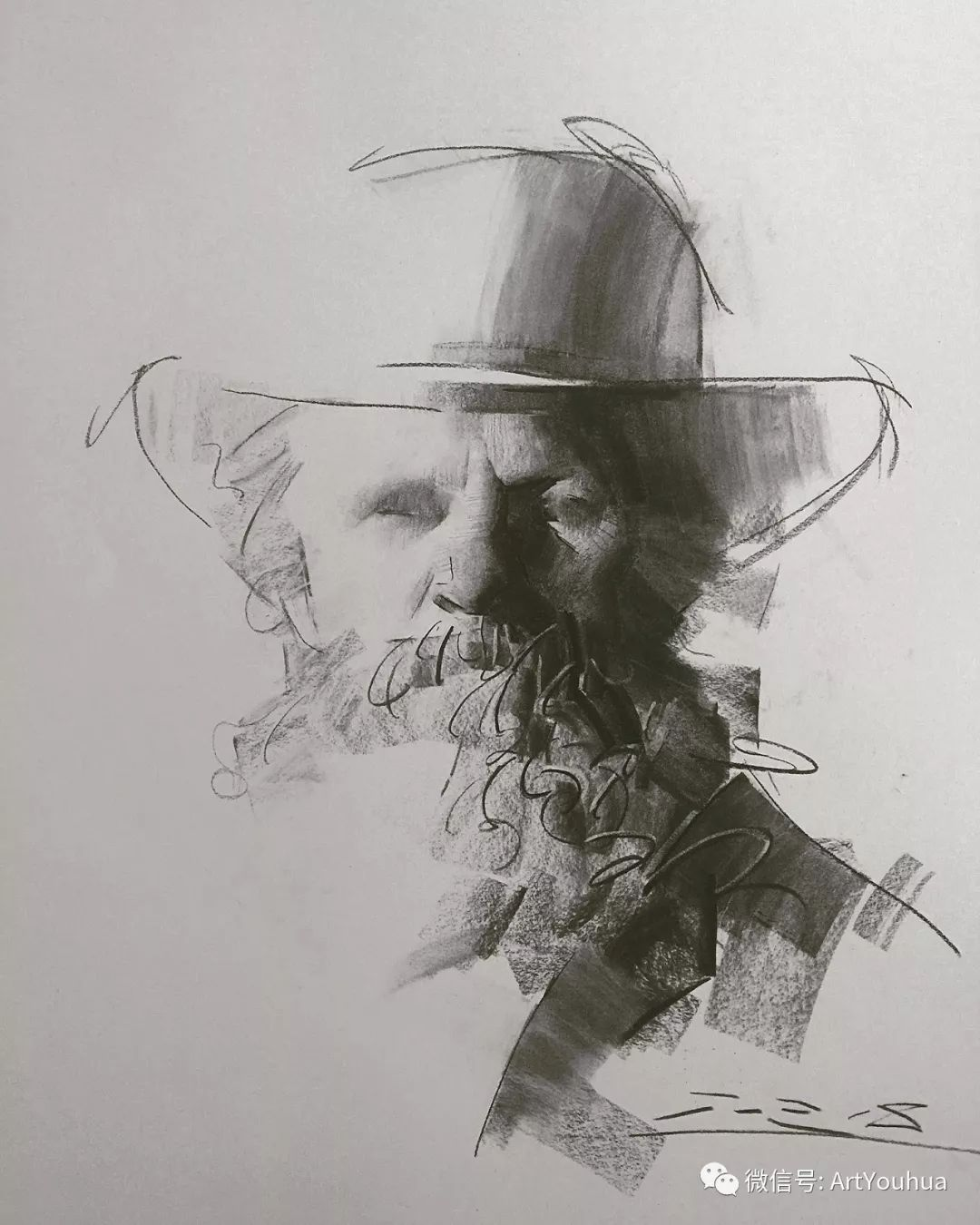 他的人物肖像绘画独具一格 还是位80后画家插图113