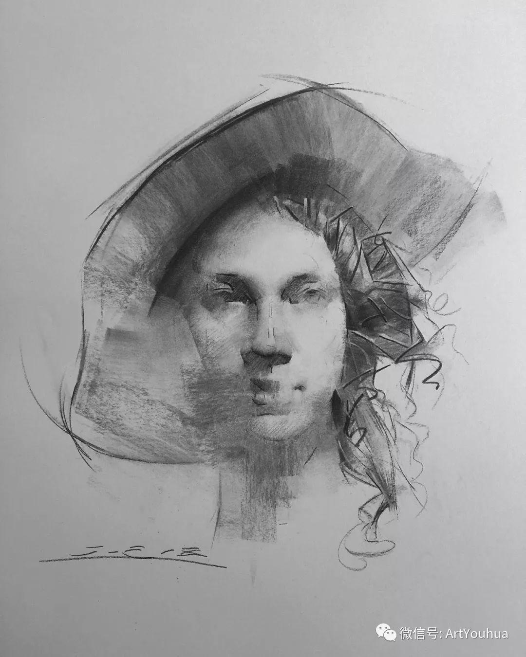 他的人物肖像绘画独具一格 还是位80后画家插图115