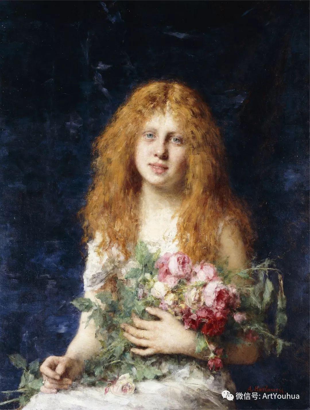 纯真少女与鲜花 美好生命的象征插图15