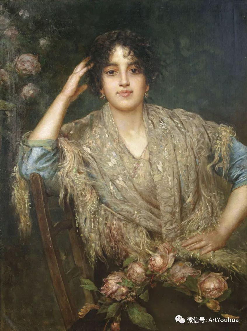 纯真少女与鲜花 美好生命的象征插图41