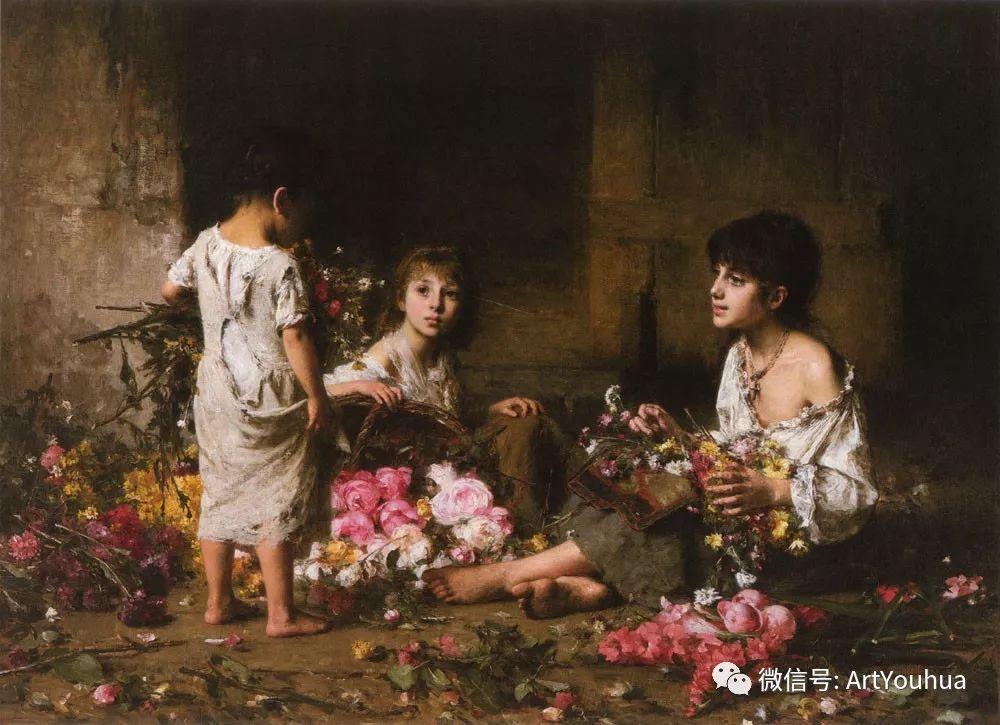 纯真少女与鲜花 美好生命的象征插图79