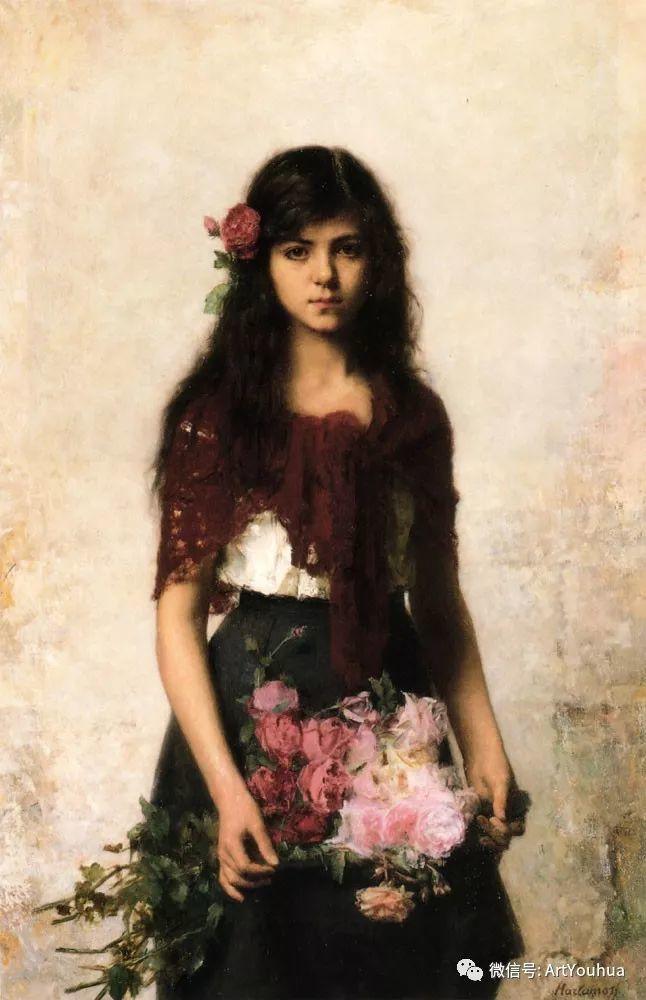 纯真少女与鲜花 美好生命的象征插图89