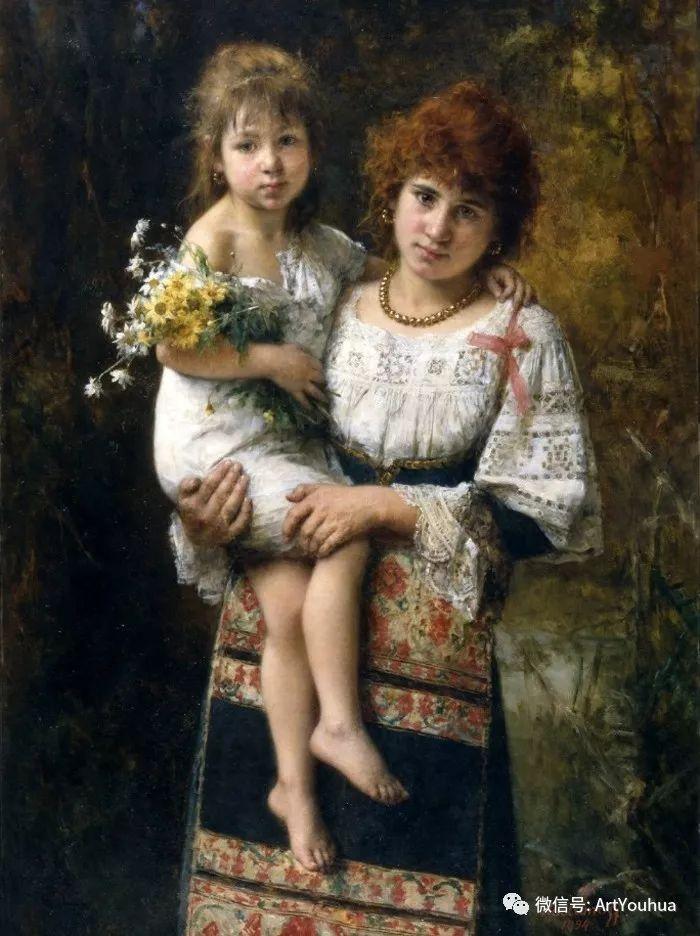 纯真少女与鲜花 美好生命的象征插图97