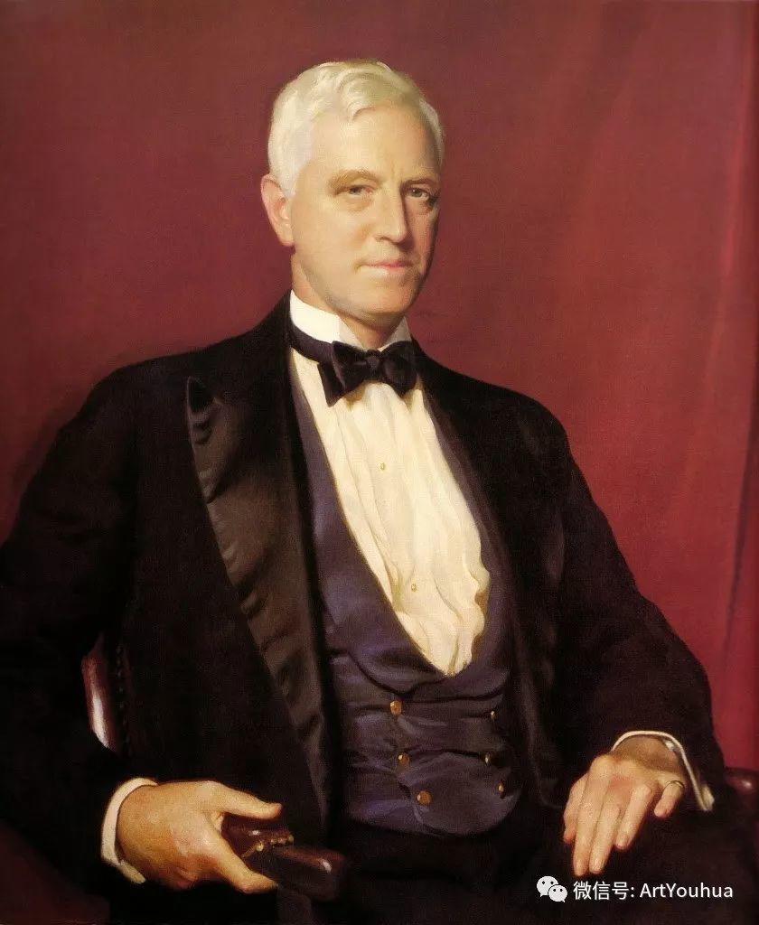 他直到他人生最后一刻还拿着画笔 曾为两位美国总统画过肖像插图19