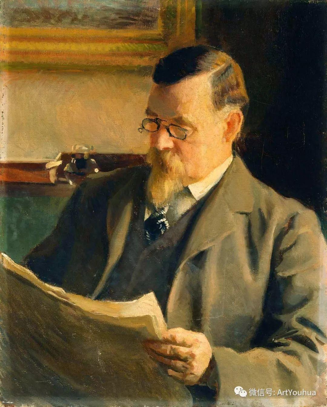 他直到他人生最后一刻还拿着画笔 曾为两位美国总统画过肖像插图21