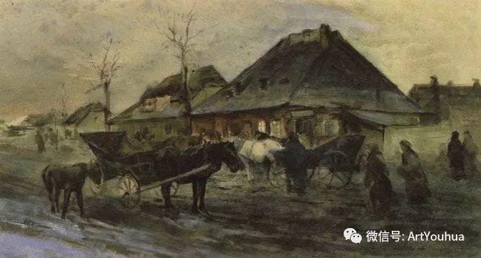 以画战斗作品而闻名 波兰画家Maksymilian Gierymski插图11