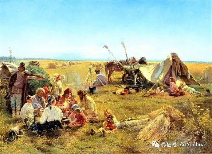 他们家四兄妹都是俄罗斯著名的画家插图