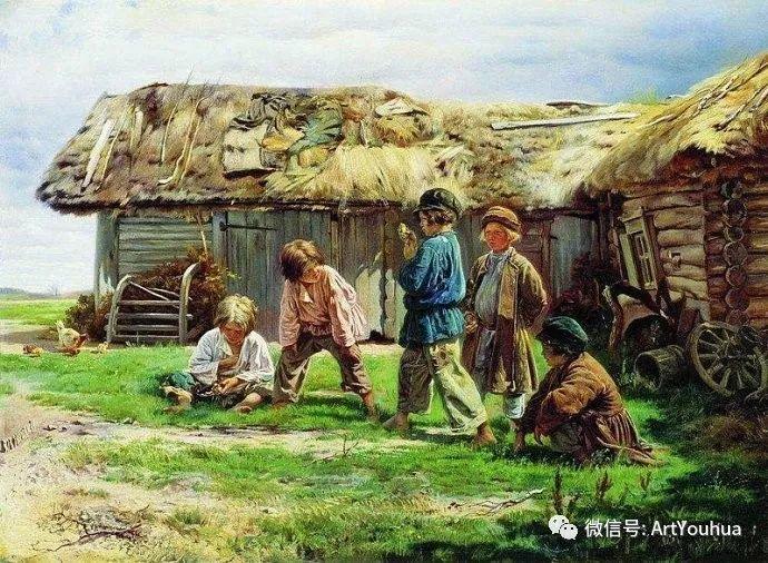 他们家四兄妹都是俄罗斯著名的画家插图5