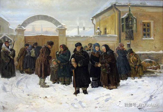 他们家四兄妹都是俄罗斯著名的画家插图7