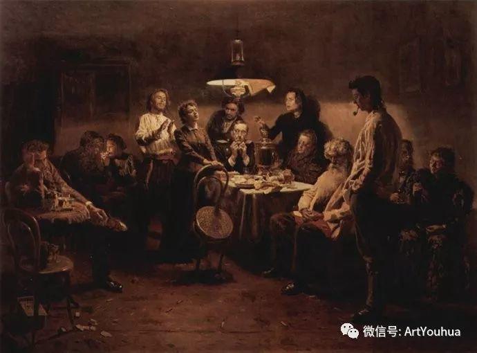 他们家四兄妹都是俄罗斯著名的画家插图9
