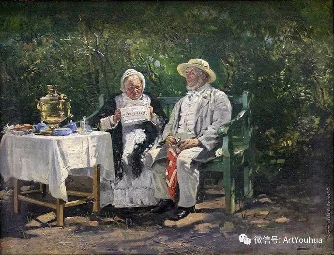 他们家四兄妹都是俄罗斯著名的画家插图14