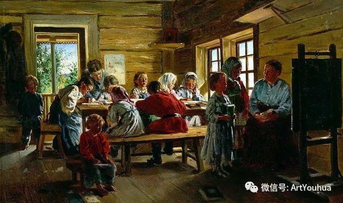 他们家四兄妹都是俄罗斯著名的画家插图17