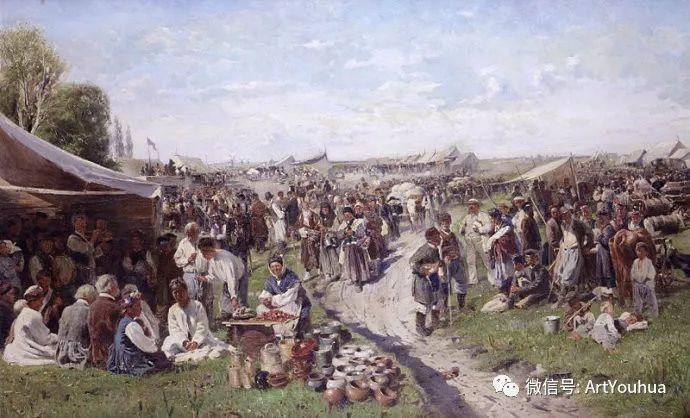 他们家四兄妹都是俄罗斯著名的画家插图19