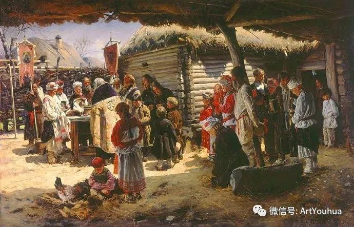 他们家四兄妹都是俄罗斯著名的画家插图24