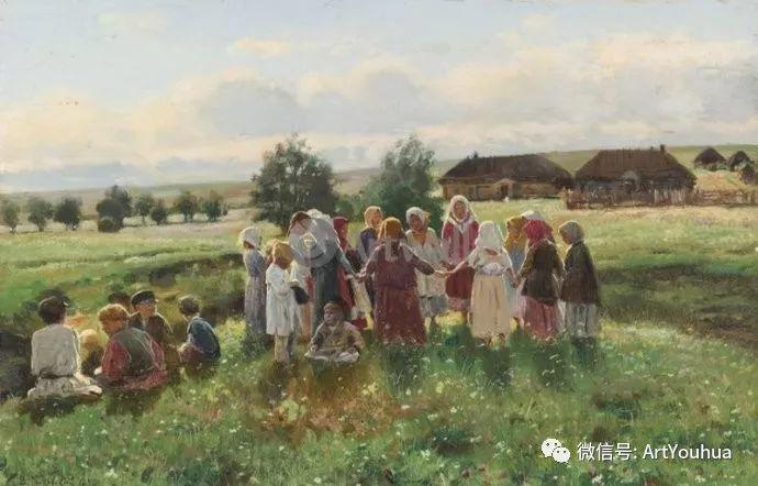 他们家四兄妹都是俄罗斯著名的画家插图26