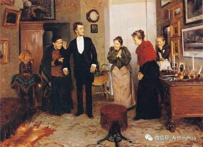 他们家四兄妹都是俄罗斯著名的画家插图28