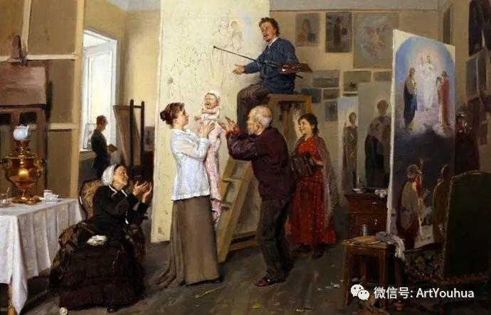 他们家四兄妹都是俄罗斯著名的画家插图29