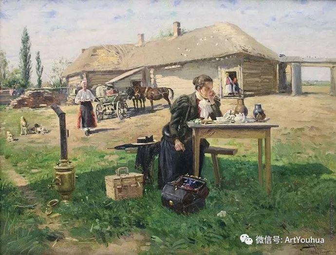 他们家四兄妹都是俄罗斯著名的画家插图32