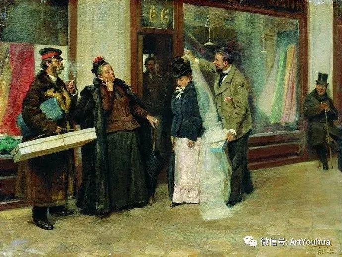 他们家四兄妹都是俄罗斯著名的画家插图34