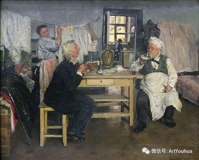 他们家四兄妹都是俄罗斯著名的画家插图35