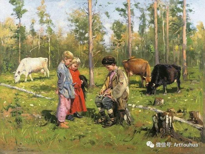 他们家四兄妹都是俄罗斯著名的画家插图36