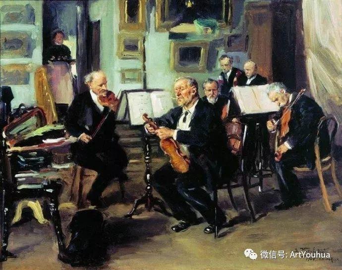 他们家四兄妹都是俄罗斯著名的画家插图38