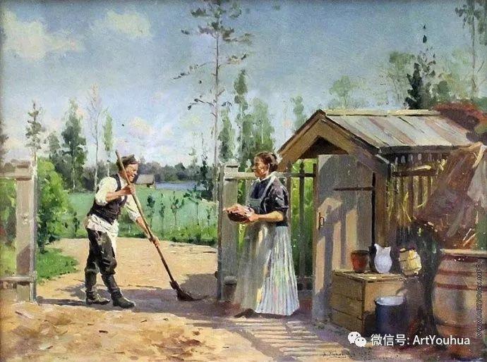 他们家四兄妹都是俄罗斯著名的画家插图39