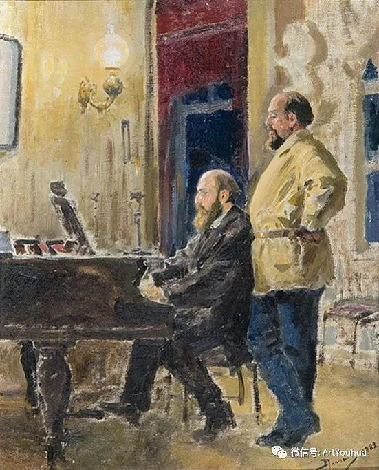 俄罗斯瓦西里·波列诺夫作品集二插图35