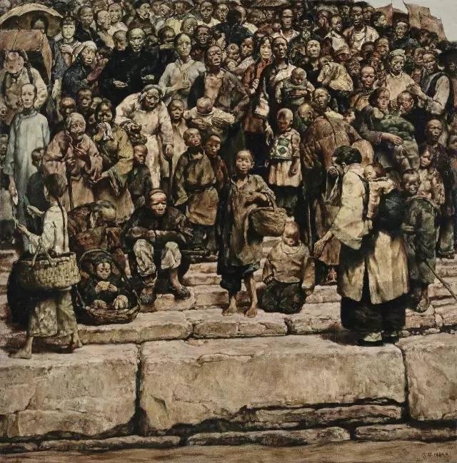 31幅中国天价经典写实油画,你更喜欢哪一幅?插图17