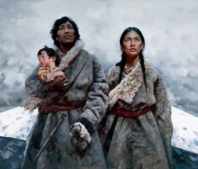 31幅中国天价经典写实油画,你更喜欢哪一幅?插图23