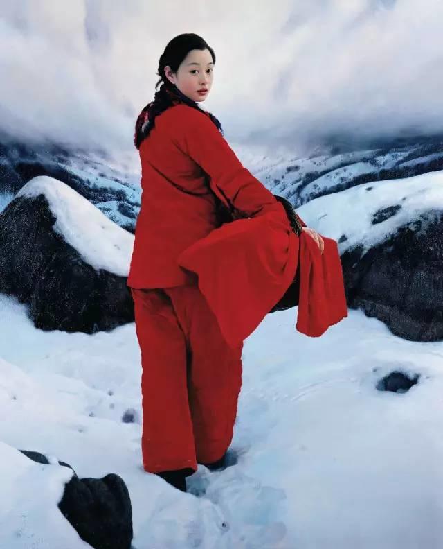 31幅中国天价经典写实油画,你更喜欢哪一幅?插图25