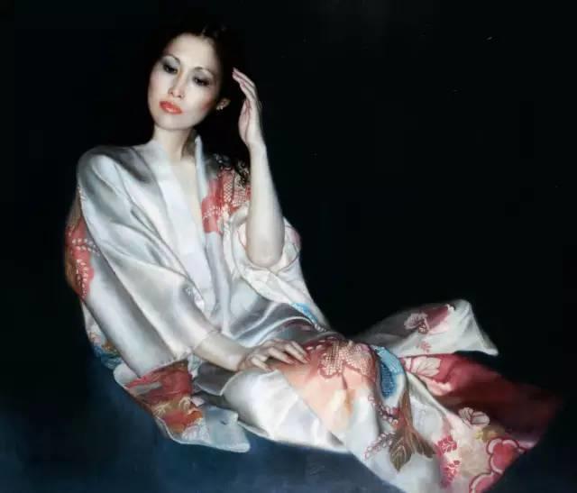 31幅中国天价经典写实油画,你更喜欢哪一幅?插图43