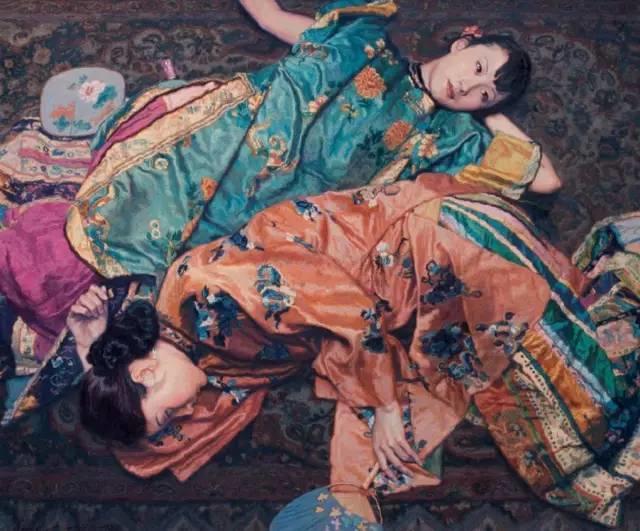 31幅中国天价经典写实油画,你更喜欢哪一幅?插图45