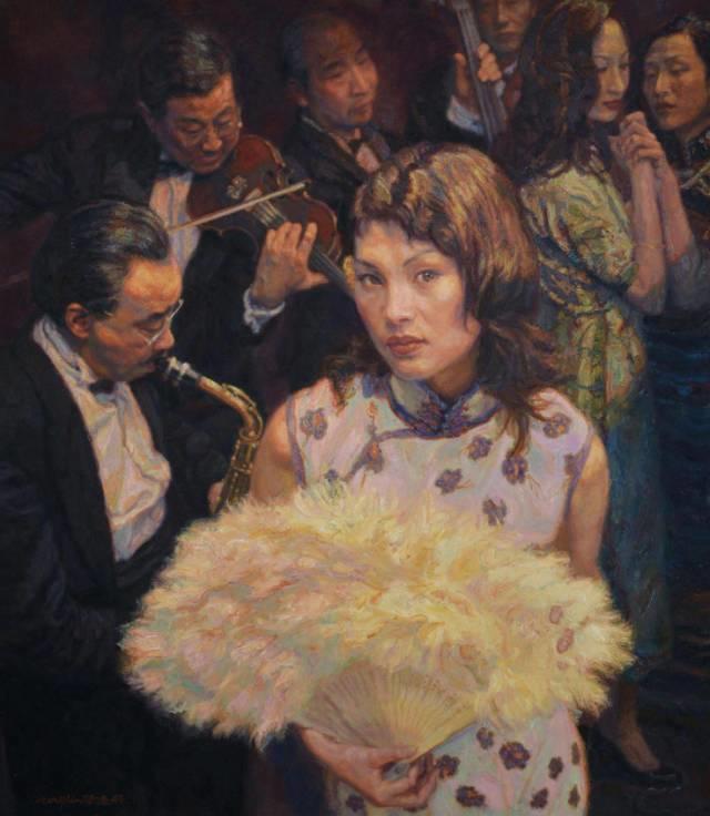 31幅中国天价经典写实油画,你更喜欢哪一幅?插图49