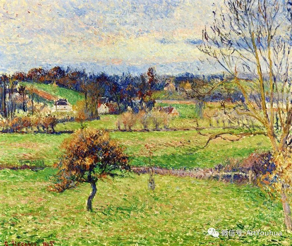 145图 法国印象派画家毕沙罗作品集一插图15